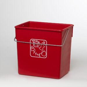 cubos de reciclaje